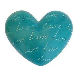 Large-Turquoise-Love-Heart-Soapstone-Handmade-in-Kenya-Fair-Trade