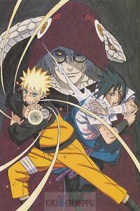 Poster A3 Naruto Shippuden Boruto Sarada Uchiha Mitsuki Manga Anime Cartel 01
