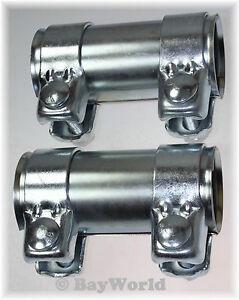 Rohrverbinder Doppelschelle Auspuff 50 x 125mm Seat Toledo 1M2 Rohrschelle