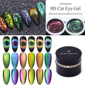 BORN-PRETTY-5ml-9D-Magnetique-Cat-Eye-Gel-Vernis-a-Ongles-Soak-Off-Nail-Varnish