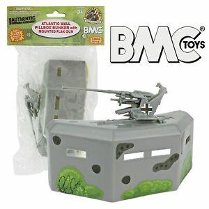BMC-WWII-D-DAY-Battlefield-Accessories-Bunker-1-32-Plastic-Army-Men-FREE-SHIP