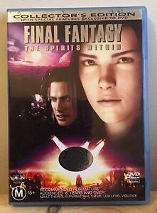Final-Fantasy-The-Spirits-Within-DVD-Region-4-2001-2-Disc-Set