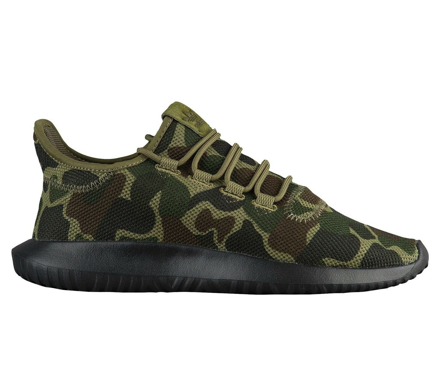 Adidas Tubular Shadow Knit Camo Mens CP8682 Night Cargo Black Shoes Size 12