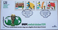 Stadspost Apeldoorn - FDC WK Voetbal , Football Duitsland 1974 (1)