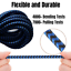 miniature 5 - 3Pack 10Ft Braided USB Fast Charger Cable For iPhone 12 11 8 6 XR Charging Cord