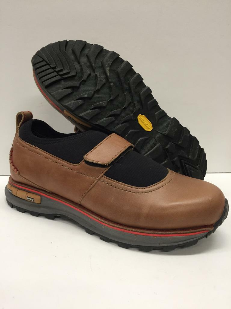Somnio 1506-10080 Capitola Leather Walking Casual Comfort Shoes Brown Womens 8