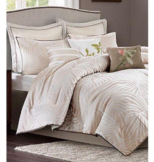 Madison Park Freeport Coastal 7 Piece Twin Twin XL Tan Comforter Set