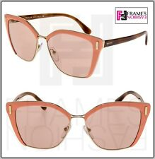 7d0497102af item 6 PRADA MOD PR56TS Pink Havana Rose Gold Mirrored Square Sunglasses  56T Women -PRADA MOD PR56TS Pink Havana Rose Gold Mirrored Square Sunglasses  56T ...
