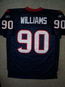 AUTHENTIC Houston Texans MARIO WILLIAMS nfl Jersey Adult MEN'S ...