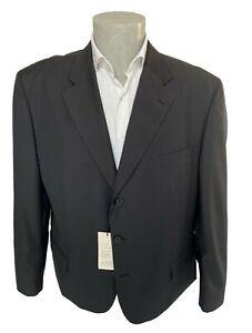 Giacca uomo Confitalia, blu taglia 60 corta in fresco lana Vergine, sconto 70%.