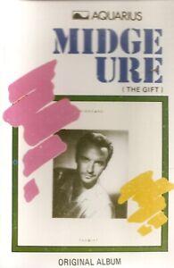 Midge Ure.  The Gift. Aquarius Import Cassette Tape