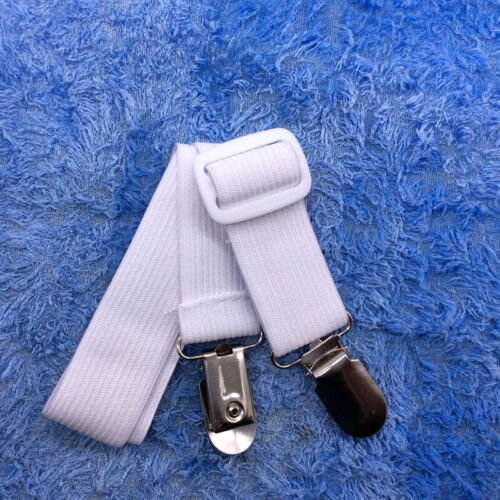 2pcs Adjustable Elastic Bed Sheet Clip Mattress Cover Fasteners Straps Grippers