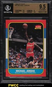 1986-Fleer-Basketball-Michael-Jordan-ROOKIE-RC-57-BGS-9-5-GEM-MINT