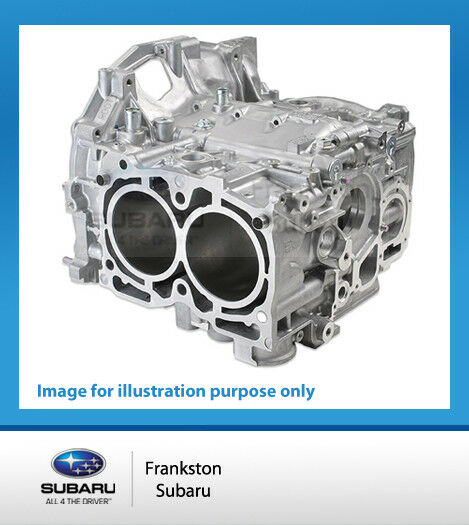 GENUINE SUBARU IMPREZA WRX STi 2.5L EJ257 2008-2014 SHORT BLOCK ENGINE ASSEMBLY