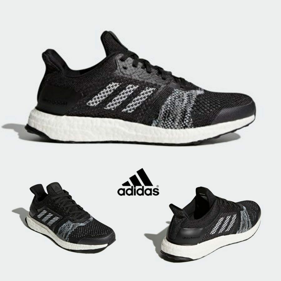 Adidas Ultra Boost ST Shoes Running Sneakers Trainers Noir CQ2144 SZ 4-12