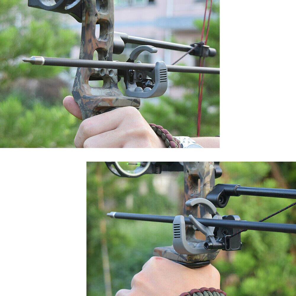 Archery Holding Brush Drop Away Arrow Rest For Compound Bow R//L Hand Aluminum