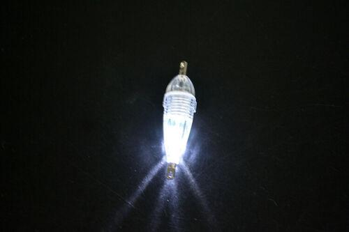 5pcs//set 6cm//8g Glow LED Underwater Night Fishing Light Lure for Attracting Fish