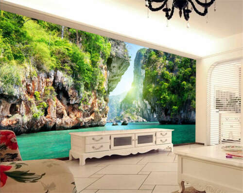 Lake Nature landscapes Full Wall Mural Photo Wallpaper Print Kids Home 3D Decal