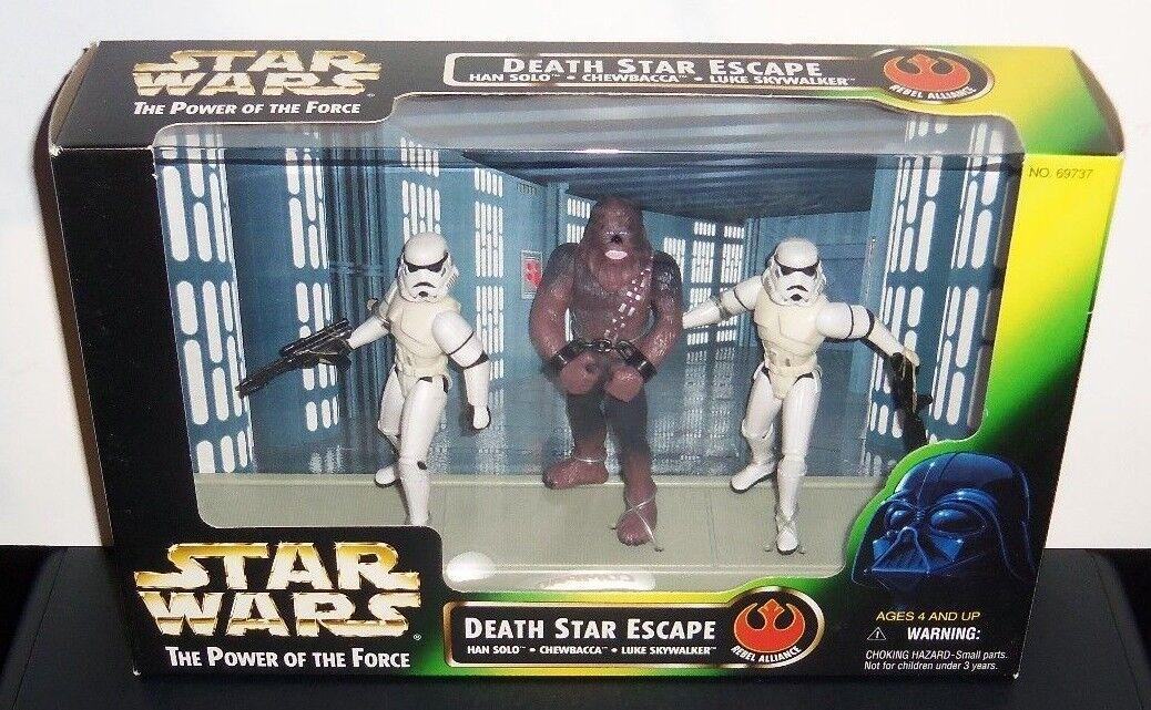 STAR STAR STAR WARS - POTF BOX LOT  RED CARD 362e5c