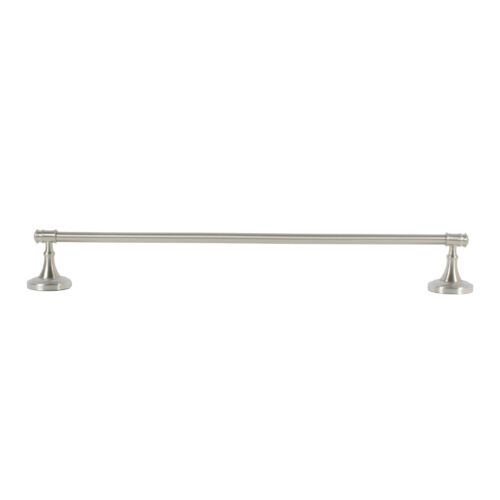 Satin Nickel Bath Hardware Accessories Towel Bar Paper Holder Ring Set