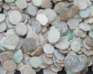 LOT-OF-12-NICE-ANCIENT-ROMAN-CULL-COINS-UNCLEANED-amp-EXTRA-COINS-ADDED