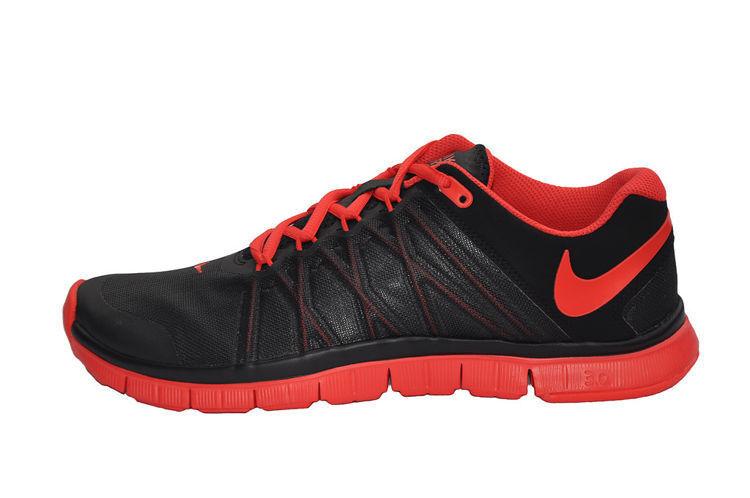 Nike Free Trainer 3.0 Black LT-Crimson Men's Running Training shoes Size 15