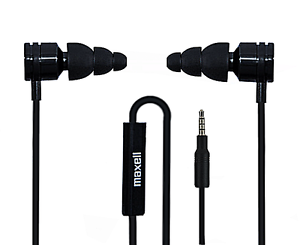 5794bd704b7 Image is loading MAXELL-Super-BASS-BUDS-Earphones-with-Microphone-Heavy-