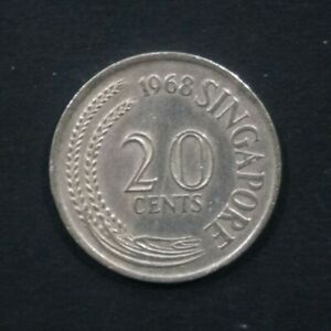 1968-Coin-Singapore-Lion-Fish-Coin-Singapore-20-cents-1968