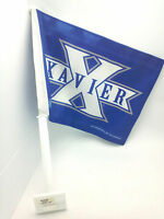 Xavier University Car Flag Double Sided Officially Licensed