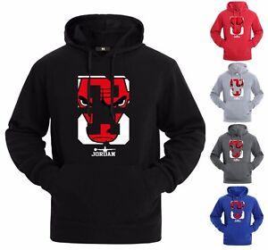 NEW-Michael-Air-Legend-23-Jordan-Chicago-bulls-Mens-Hoodie-Sweatshirt-Sportswear