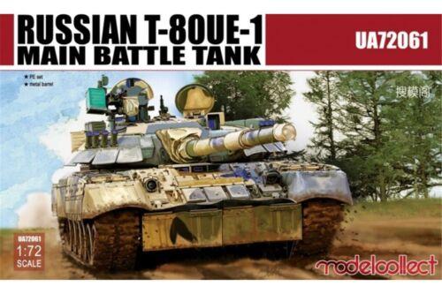 Modelcollect UA72061 1//72 Russian T-80UE-1 Main Battle Tank