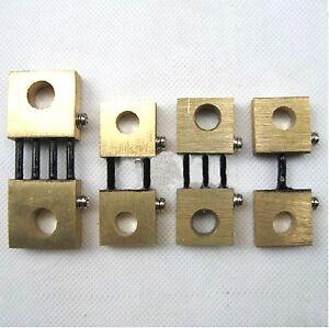 CLEARANCE-Shunt-Resistor-DC-100-1500A-75mV-Current-Ammeter-Analog-Panel-Meter