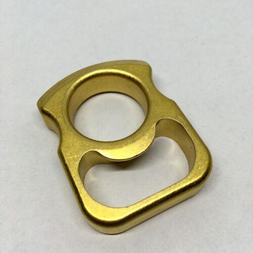 Solid Brass Pocket EDC Survival Escape Knuckle Bottle Opener Outdoor Keychain #9