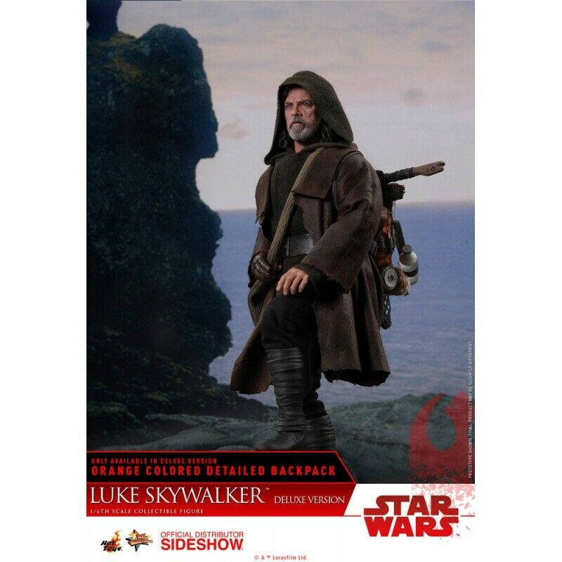 1 6 Deluxe Luke Skypromänader stjärnornas krig Den sista Jedi heta leksaker Exklusiv 903204