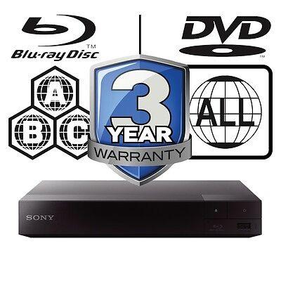 Sony BDP-S3700B.CEK BDPS3700 Full Multi Region Blu-ray Player