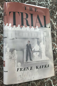 The Trial, First Edition, 1953, by Franz Kafka, with Facsimile Dust Jacket