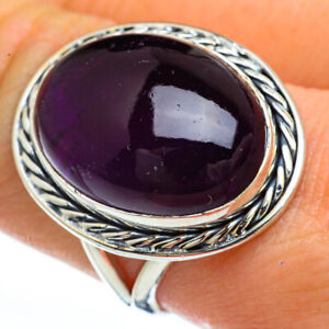 Amethyst-925-Sterling-Silver-Ring-Size-9-Ana-Co-Jewelry-R45163F