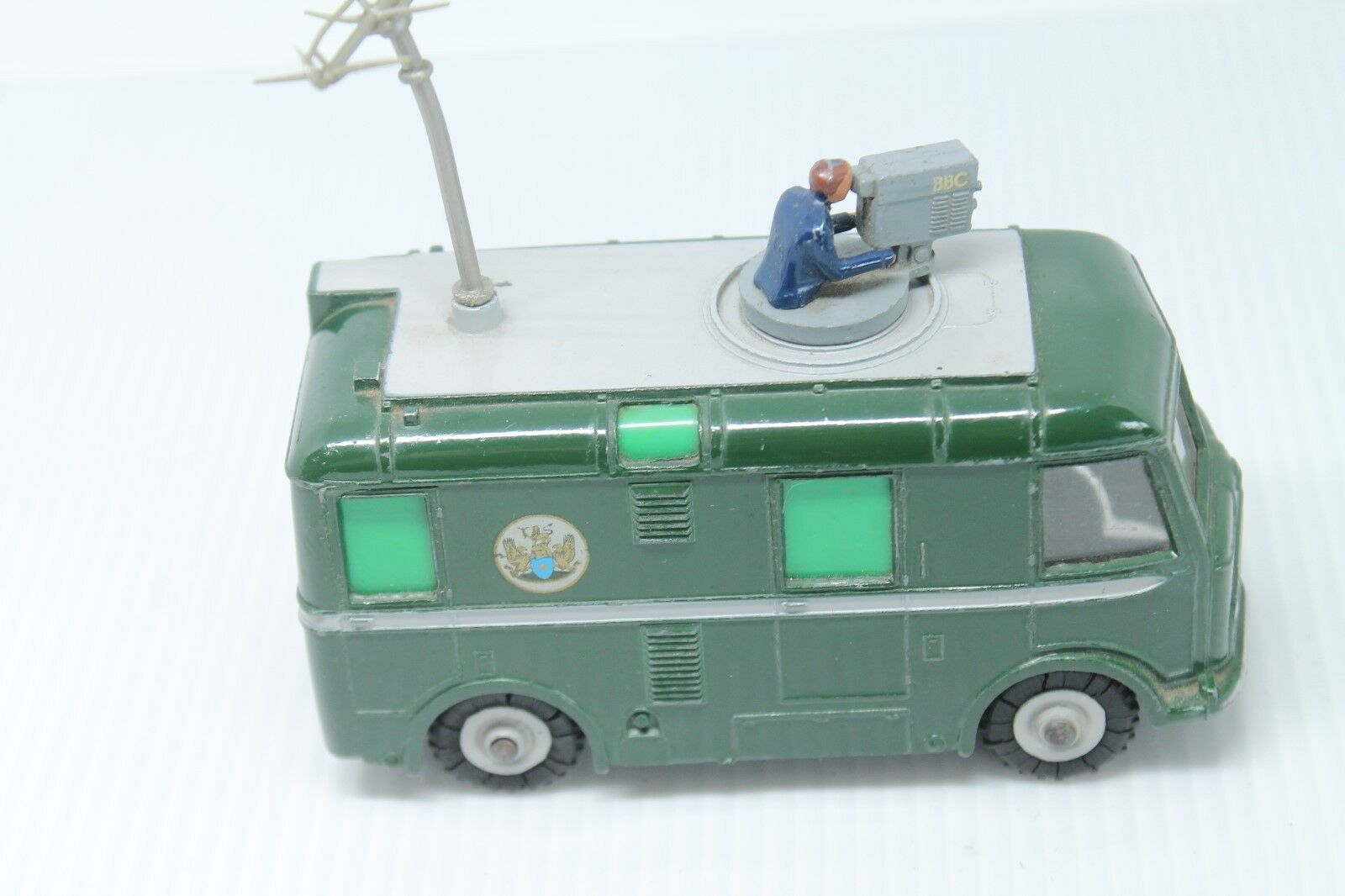 DINKY TOYS 968 * BBC TV Roving Eye Vehicle * OVP * 1960 * MECCANO