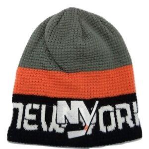 6ac95e34fd2 New York Islanders Reebok NHL Hockey Waffle Knit Hat Beanie Toque ...