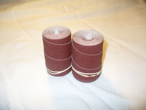2 Precut strips//rolls Performax Jet 16-32 and Ryobi WDS1600 Drum Sander 100 Grit