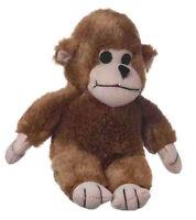 Multipet Look Who's Talking Monkey 7 Plush Soft Dog Toy Free Ship Usa