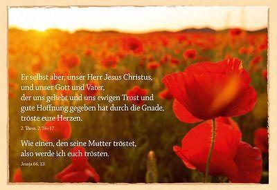 Grußkarte Trost | Trost, Beileid, mit Bibelspruch | eBay