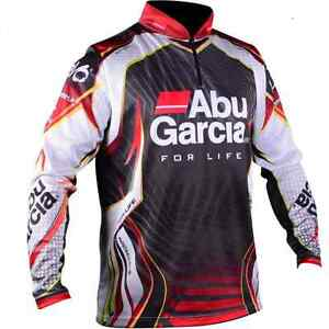 abu garcia pro tournament jersey fishing shirt new with
