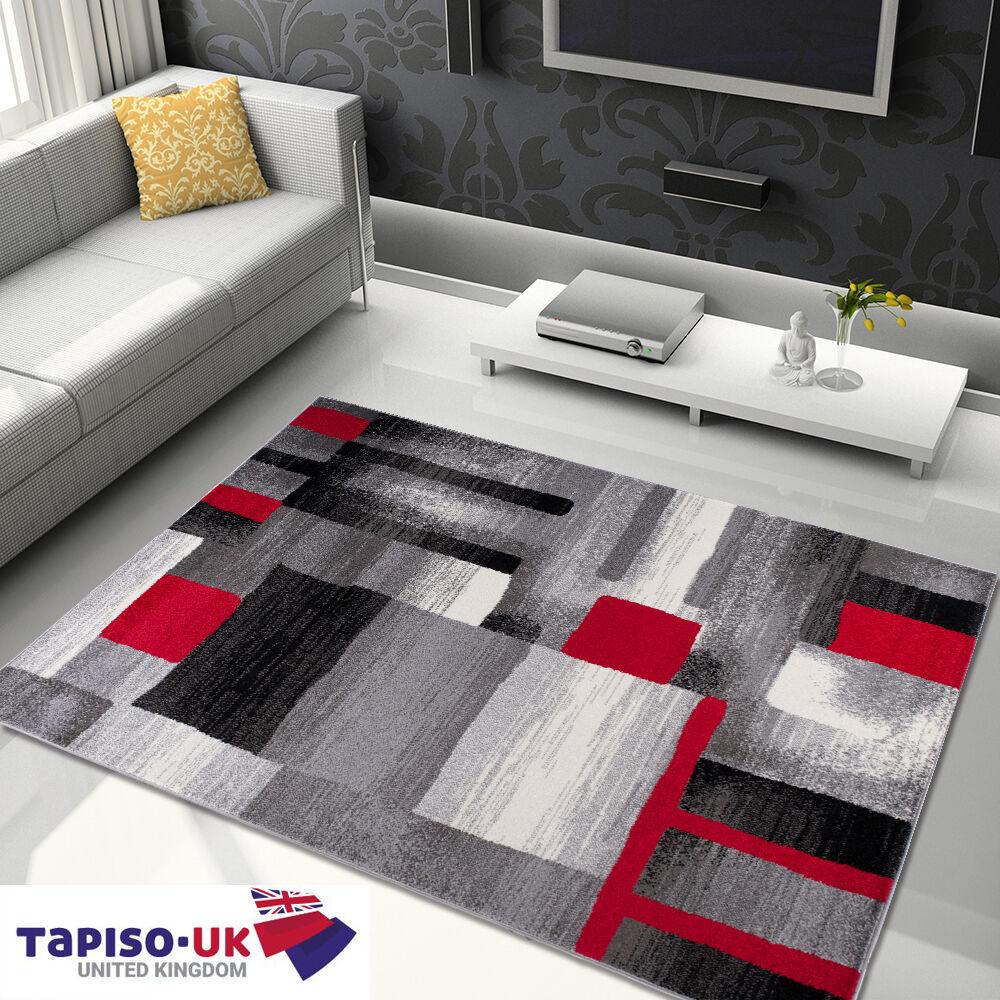 Tapis d'abstraction pour pour pour salle de séjour meilleur prix triangle motif gris   Dans De Nombreux Styles  7af206
