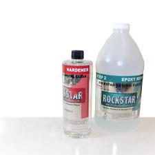 Rockstar 4 Star Epoxy Casting Resin 12 Gallon Kit 31 Mix Rock Hard