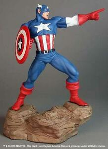 Avenger-039-s-Captain-America-Statue-By-Hard-Hero-Limited-Numbered-MIB