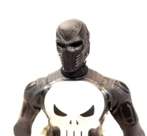 Mezco Spec Ops Punisher Masked 1//12 Unpainted Head Sculpt Head Only P03