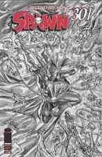 SPAWN 301 ALEX ROSS B&W EXCLUSIVE VARIANT NM 666 PRINT RUN - IN HAND NOW