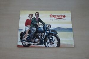 195413) Triomphe-modèle Programme-prospectus 195?-afficher Le Titre D'origine