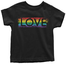 I Love My Lesbian Aunt With Gay Flag Toddler Baby Kid T-shirt Tee 6mo Thru 7t
